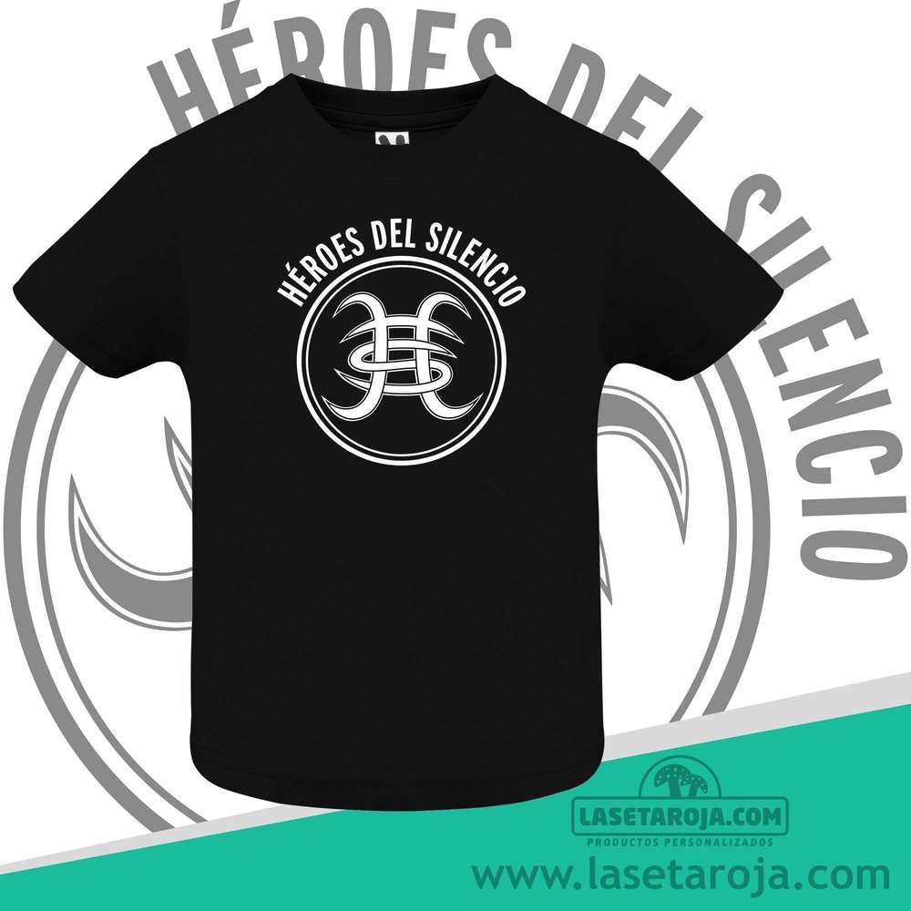Roja Bebe Camiseta Del Heroes Silencio La Seta m0nwyvN8OP